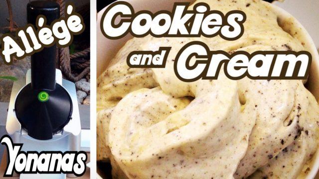 Glace Cookies & Cream (à base de fruits avec la Yonanas) – Recette