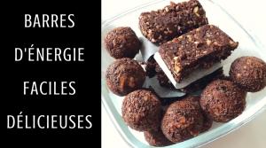 Barres d'Énergie au Cacao – Recette
