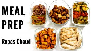 Meal Prep Repas Chaud / Préparer Ses Repas à l'Avance – Recette