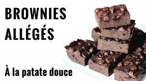 Brownies Allégés, à la Patate Douce – Recette