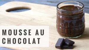 Mousse au Chocolat – Recette
