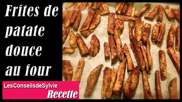 frites de patate douce au four recette les conseils de. Black Bedroom Furniture Sets. Home Design Ideas
