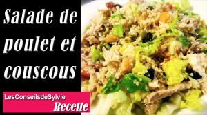 Salade de Poulet et Couscous – Recette