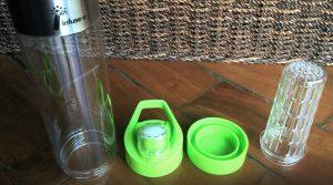 Bouteille d'eau à infuser sans BPA [INFUSE-O]