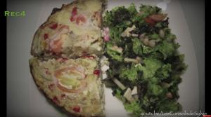 Omelette aux Légumes et sa Salade Composée – Recette