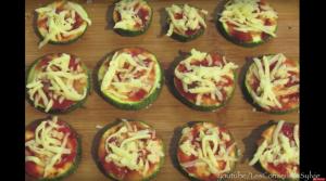 Pizza de Courgettes Grillées – Recette